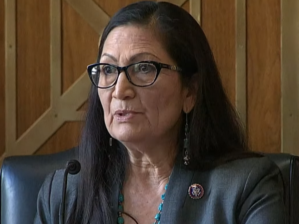"Haaland Retains Her Composure in the Face of ""Immense Disrespect"" in Confirmation Hearing"