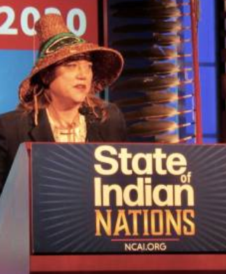 NCAI Shows Support for President Fawn Sharp after Washington Governor Implies She is Not a Real Tribal Leader