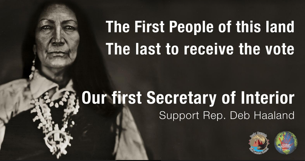 Indigenous Organizations Challenge GOP attempt to block Haaland from Becoming the First Native American Secretary of Interior