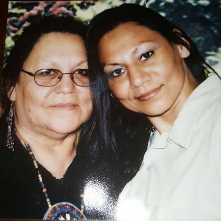 Lavonne Roach and mother