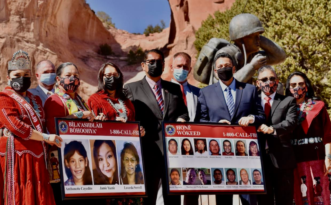Navajo Nation Leaders Honor Missing and Murdered Indigenous Peoples Awareness Day