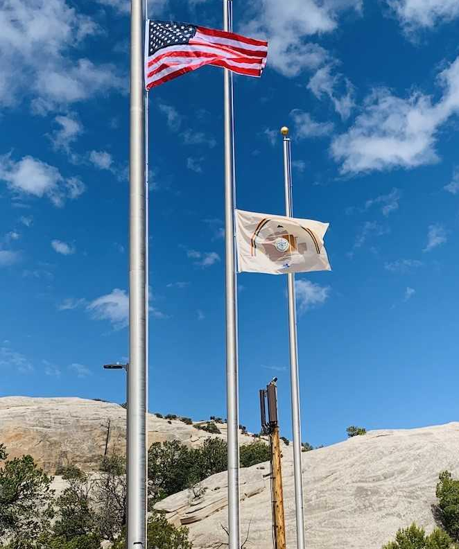 Flags Flown At Half Staff To Honor Navajo Soldiers Who Died At Fort Hood Currents