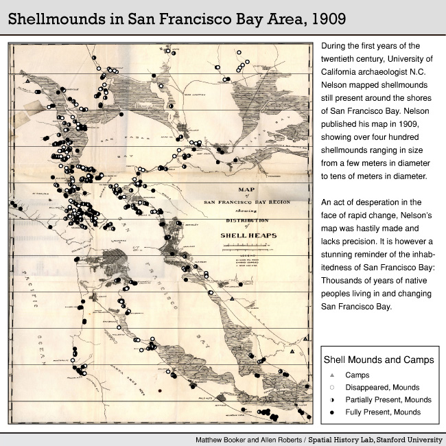 Shell Mounds in SF Bay