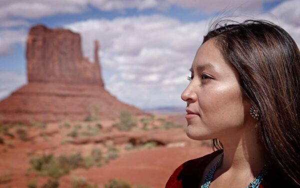 Navajo Activist Allie Young Nominated for Congressional Medal of Office by Sen. Sinema
