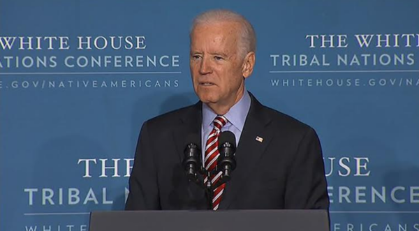Joe Biden's Commitment to Indian Country