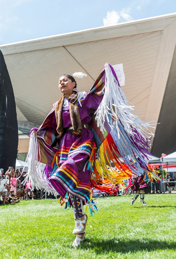 The 32nd Annual Denver Art Museum Friendship Pow Wow and Cultural Celebration of American Indians will take place Sunday, September 12 at the Denver Indian Center and on the Denver Art Museum Facebook and YouTube pages.  (Facebook page of the event)